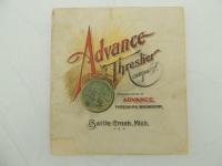 Advance Thresher Co. Catalog