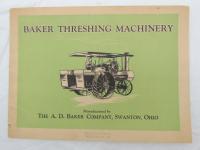 Baker Threshing Machinery Catalog