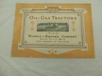 Nichols & Shepard Co., Oil - Gas Tractors Catalog
