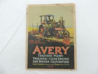 1918 Avery Catalog