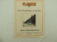 Case Steam Road Roller and Scarifier Catalog