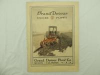 Grand Detour Engine Plows Brochure
