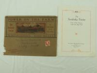 The Sandusky Tractor Catalog with Envelope
