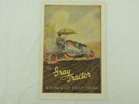 The Gray Tractor Foldout Brochure