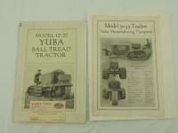 Model 12-20 Yuba Ball Tread Tractor Brochure