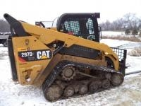 2015 CAT 297D XHP Compact Track Loader, SN: HP200232, 2-Speed Transmission, 4,725# Capacity,