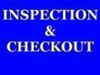 INSPECTION: Monday, December 17th; 9:00-3:00 PM
