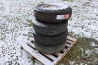 (4) Tires, (2 Are NEW)