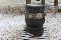(4) Trailer Tires; (2) are NEW, Model ST235/80R16