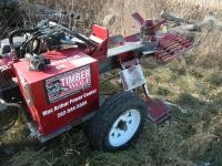 2011 Timber Wolf Commercial Log Splitter, Trailer Mounted, Honda GX630 Gas Engine, Table Grate