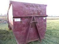 30-Yard Steel Hooklift Container, Swing-Out Rear Door