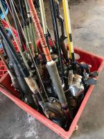 Lot of rod and reels