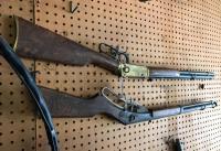 2 lever action BB guns, 1 Red Ryder