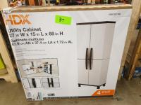 HDX Utility Cabinet 27 x 15 x 68