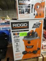 (1) Ridgid 12 gallon wet/dry vac; (1) Ridgid 6 pc Auto detailing Kit