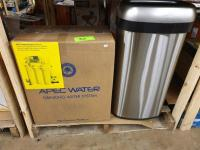 Apec Water Drinking Water System, Stainless trash can