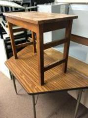 "Classroom table, wooden table 32"" x 18"""