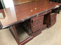"Wooden office desk 72"" x 36"" All drawers complete and working"