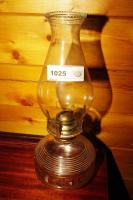 OLD GLASS OIL LAMP - GRT