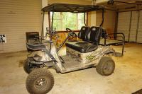 EZ-GO BEAST 48 LIFTED OFF ROAD ELECTRIC HUNTING CART - GAR