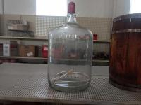 Vintage 6 1/2 Gal. Glass Jug