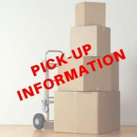 PICK-UP DATES & TIME - Friday SEPTEMBER 6 and SATURDAY SEPTEMBER 7, 2019 from 10:00 AM to 4:00 PM each day - at 294 Polly Hill Rd, Marshallberg, NC