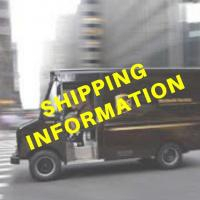 SHIPPING is Available via The UPS in Morehead City, NC. Shipping is the responsibility of the BUYER - See Terms of Auction.