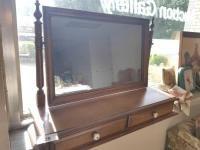 Mirrored Bureau Top
