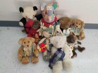 Vintage Stuffed Animal Collection
