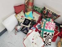 Collection of Quilts, Pillows, Shams, Bolster