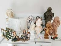 Collection of Angels, Cherubs, Victorian Women; misc