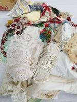 Knitted; Crocheted Items; Tablecloth; Fabrics