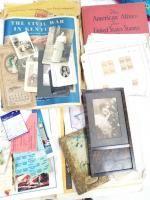 Collection of Vintage Photographs; European Travel Souvenir; Books; Magazines