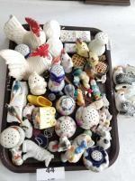 Vintage Salt/Pepper Shakers; Ceramic Pieces
