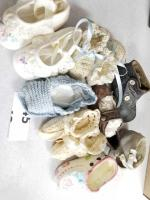 Vintage Collection of Baby Shoes