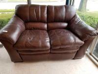 Lazy Boy Leather Love Seat