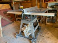 Craftsman 10 inch belt drive table saw, 3 hp