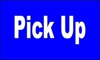 PICKUP Date and Time – Thursday, September 19th, 5pm-7pm.