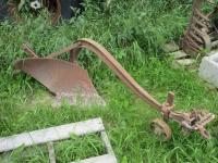Walk Behind Single Bottom Plow