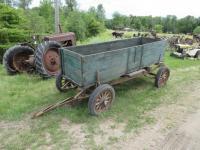 Wooden Box Wagon on Whippet Running Gear