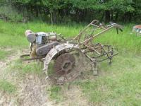 Walk Behind Garden Tractor