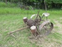 Early P and O Sulky Corn Planter