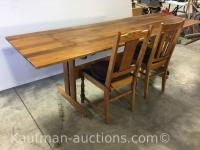 Older Table & 2 Chairs