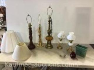 5 Lamps & misc