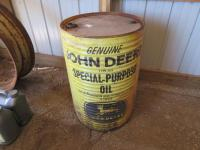 John Deere 55 Gallon Barrel