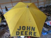John Deere Wooden Post Tractor umbrella