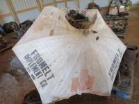International Metal post Tractor Umbrella