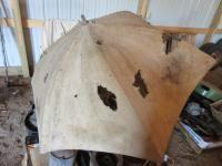 Unmarked Tractor Umbrella
