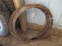 Pair of John Deere Skid rings