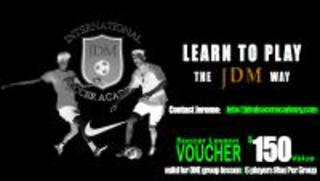 Group soccer training max of 6 players per group Donor: Jerome Value $150